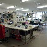 The CRE laboratory on Heron Island. The coral deck is just outside the windows! Photo A. Van Den Heuvel